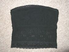 BLACK LACE STRAPLESS TOP SIZE 6 FROM MISS SELFRIDGE