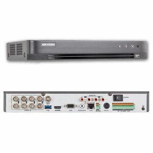 Hikvision DS-7208HUHI-K1 8 Channel Turbo HD Hybrid DVR (5MP, TVI, IP, AHD, 960H,