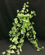 "Garden Ivy Greenery Hanging Vine Bush~Green,Pale Green~34""~Silk/Artificial"
