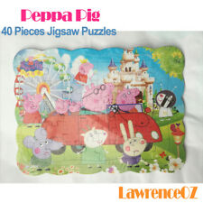 New 40 Pieces Jigsaw Puzzles Peppa Pig - Dad's Car Drawing Best Gifts for Kids