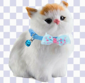 Bow Tie Collar Adjustable Design with Bell For Kitten Puppy or Small Dog Cat