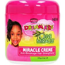 AFRICAN PRIDE DREAM KIDS OLIVE MIRACLE MIRACLE CREME ANTI-BREAKAGE HAIR STRENGTH