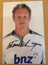 Tom Mccarthy- Blues Rugby Signed 6x4 Photo