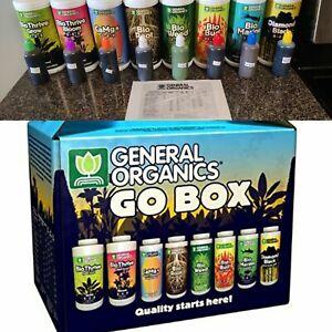 General Hydroponics General Organics GO Box - 3oz bottles
