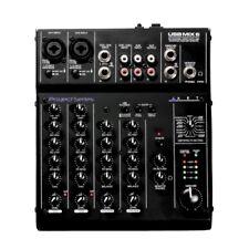 ART USBMIX6 Microphone, Instrument, Line FX Mixer & Computer Podcast Interface