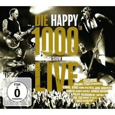 DIE HAPPY - 1000TH SHOW LIVE (EXTENDED EDITION) CD+DVD  32 TRACKS  ROCK  NEU