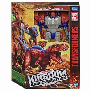 Transformers Kingdom War for Cybertron Maximal T-Wrecks Leader Class Figure