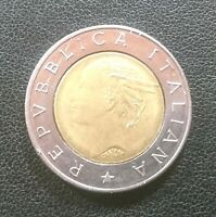 REPVBBLICA ITALIANA L.500 1991 collectible coin