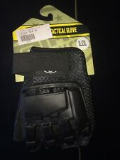 Valken Tactical Paintball Glove 1/2 Finger Protective Size Xl/2Xl Black New