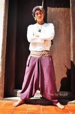 La Birmanie Karen courageuse population montagnarde Minority Pantalon 100% coton Myanmar Laos Thaïlande 1405