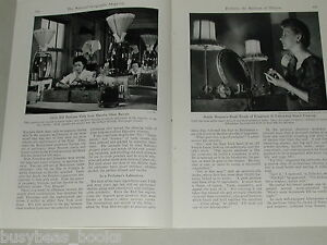 1951 magazine article about PERFUME, uses, materials, manufacturing etc