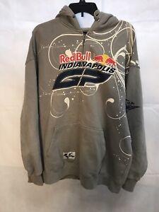 Brickyard Authentics Red Bull Indianapolis Moto GP Full Zip 2009 Sweatshirt XL