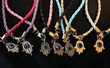HUMSA HAND BRACELET WITH EVIL EYE IN THE MIDDLE  FITS 7 TO 8 1/2