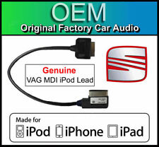 Seat RNS 315 iPod iPhone iPad cable, Genuine VAG Part MDI kit media in lead