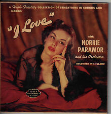 "NORRIE PARAMOR!! - ""I LOVE"" CHEESE CAKE ESSEX-107 EXT PLAY TWO 45 MONO SET VG+!!"