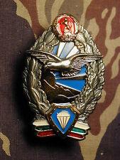 Bulgaria Airborne Jump Wings Parachutist parachute specialist Badge B&T 2176