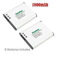 2x Kastar Battery for Olympus Li-50B Tough TG-620 iHS TG-630 iHS TG-805 TG-810