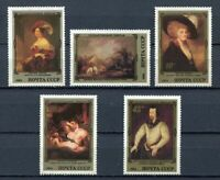 30412) RUSSIA 1984 MNH** Paintings by English Artists 5v.