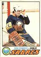 1977-78 O-Pee-Chee Don Edwards Rookie #201