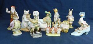 Vintage Beswick England & Royal Albert Beatrix Potter Figures All VGC Various BP