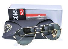 Ray Ban Aviator Classic Green G-15 Sunglasses RB3025 L0205 58mm 14 - 135