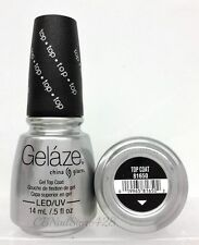 Gelaze by China Glaze - Gel Polish Top Coat