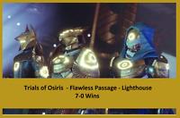 Destiny 2 Trials of Osiris Flawless Run - XBOX - PS4 - PC