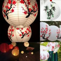"16"" Chinese Paper Lanterns Lamp Shade Wedding Party Christmas New Year Decor AU"