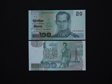 THAILAND BANKNOTES  20 Baht  p109  -  Quality Issue   Date 2003     Mint UNC