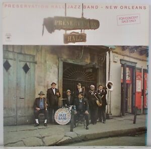 Preservation Hall Jazz Band New Orleans (NrMINT) 1977 USA LP