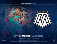 2019/20 Panini Mosaic Basketball Fast Break One Hobby Box Random Team Break #1