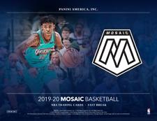 2019/20 Panini Mosaic Basketball Fast Break One Hobby Box Random Team Break #1