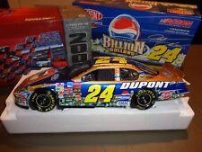 NEW RCAA Action 1:18 Jeff Gordon #24 DuPont Pepsi Billion Dollar Stock Car