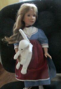 """Sonja Hartmann Alice in Wonderland 18"""" Vinyl Doll MIB w/COA Low #22 of 500"""