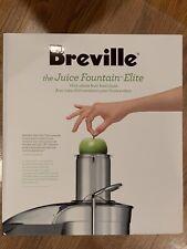 Breville Juice Fountain Elite 800JEXL / D 1000W Electric Juicer, New
