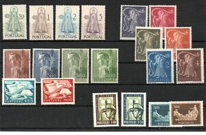 PORTUGAL , 1950 , 1954 , three better / scarce  sets and more , MNH