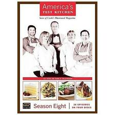 Americas Test Kitchen - Season 8 (Dvd, 2008, 4-Disc Set)
