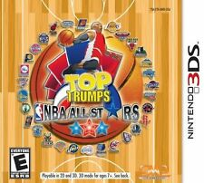 Top Trumps NBA Basketball All Stars Nintendo 3DS NEW factory sealed
