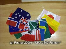 Fahnen Flaggenkette Welt 10 Meter Lang mit 16 Fahnen