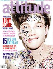 ATTITUDE Magazine #178 May 2009 ASH STYMEST Philip Olivier PAUL RUDD Tony Blair