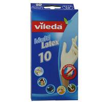 Vileda Multi - Einmalhandschuhe aus Latex, Größe S/M