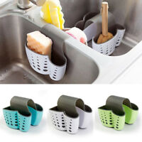 Sponge Holder Sink Caddy Soap Holder For Bathroom Kitchen Plastic Storage Basket