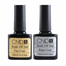 10ml 2PCS UV GEL TOP COAT & BASE COAT PACKAGE DEAL NAIL POLISH NEW UV Led Gel