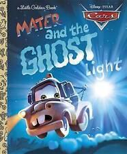 Cars: Mater and the Ghost Light (Little Golden Books (Random House)),    Hardcov