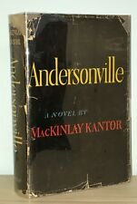 MacKinlay Kantor - Andersonville - 1st 1st HCDJ - PULITZER PRIZE - Civil War