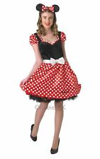 Minnie Mouse Ladies Fancy Dress Costume Party Outfit  SALE! Adult Sassy Disney