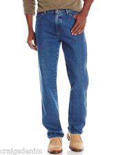 Wrangler Mens Jeans Size W38 L32 Denim Blue Stonewash  100% Cotton RRP$119