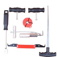Windschutzscheibe Reparaturset Werkzeug Scheiben Autoglas Ausbau Set 7 tlg KFZ