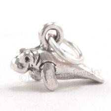 925 Sterling Silver MANATEE Charm Pendant Ocean SEA LIFE small 3D tiny mini .925
