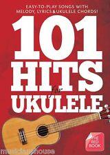 101 hits pour ukulélé le livre rouge corde & mélodie répertoire facile ed sheeran chansons